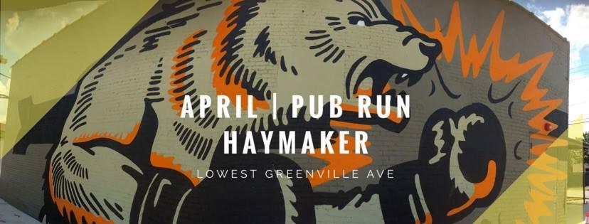 April Pub Run