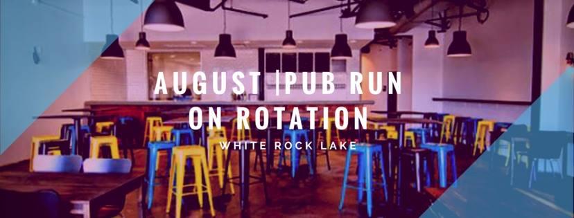 August Pub Run