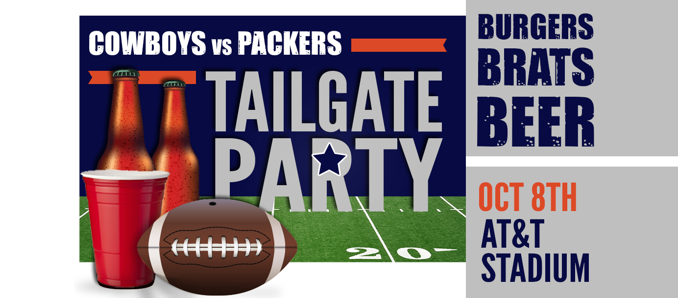 Cowboys vs. Packers Tailgate Party